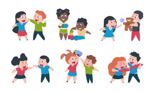 Kinderen met opvallend gedrag        2 ochtenden  09-02-2021 en 16-02-2021